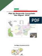 Plan de Desarrollo Concertado San Miguel