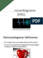 Electrocardiograma Ekg