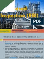 Risk Based Inspection -RBI