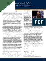 North American Office Newsletter - Michaelmas 2008