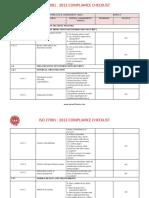 Free Iso 27001 Checklist