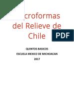 Macroformas Del Relieve de Chile