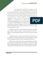 Caracteristicas Fisiograficas de La Cuenca Del Riom Mosna - Parte Alta