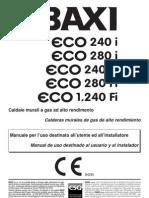 Manual Eco 240i 280i 1