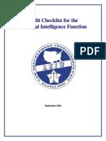 LEIU Audit Checklist