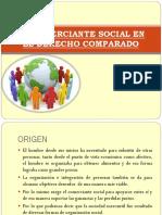 El Comerciante Social en El Derecho Comparado
