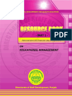 Resource Book on Educational Management - Part 1 Sample