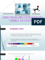 Espectroscopía Uv- Visible- Cetonas