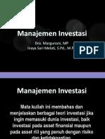 1. Konsep Investasi Dan Inv Riil