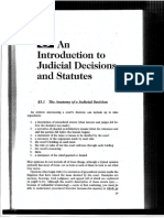 Judicial Decisions and Statutes. Neumann (CLASE 1)