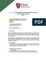 2016 Octubre Postgrado- Etica y RSE Lassaga