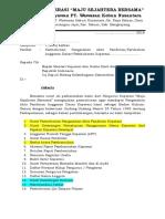 Surat Permohonan Untuk Kementerian