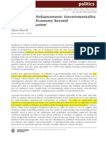 Resilience as Enhancement_Governmentality and Political Economy Beyond 'Responsibilisation'
