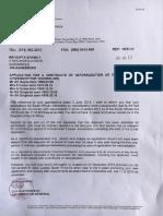 Gupta Family Citizenship Letter