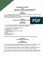 Regimento Geral Ucp