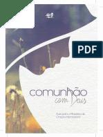 Livreto Comunhao Com Deus 2017