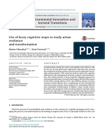 Use of Fuzzy Cognitive Maps to Study Urban Resilience and Transformation