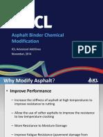 Asphalt Binder Chemical Modification