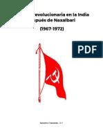 La lucha revolucionaria en la India después de Naxalbari