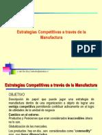 Estrategias Manufactura Competitivas