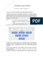 Plan de Plataformas Logísticas de Ecuador
