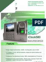 ctrl de acceso ZK TAC4901(iCLOCK580MF)