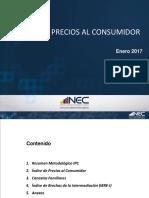 Indices de Precios Al Consumidor
