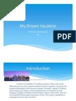 Dream Vacation Geog