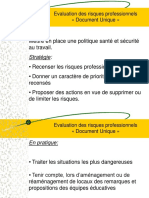 Evaluation Des Risques Professionnels Diaporama