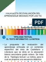 Propuesta de Evaluación Del Aprendizaje