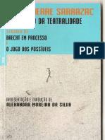 Livro de Sarrazac - A Invenção Da Teatralidade