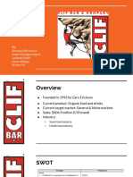 clif bar ppt slides