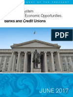 A Financial System - Treasury Secretary Mnuchin Report #1