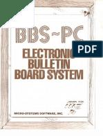 Bbs-Pc Electronic Bulletin Board System V4.03