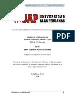 Plan de Exportacion de Quinua