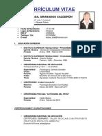 Currículum Vitae Nbieves