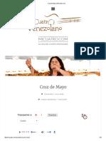 Cruz de Mayo _ MiCuatro
