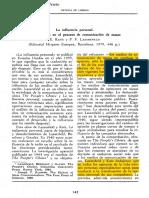 Pérez Prieto Mila-La Influencia Personal (1)