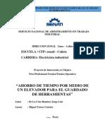 PROYECTO DE INNOVACION ACHL ASCENSORES.pdf