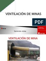 Servicios Mina Subterranea Ventilación