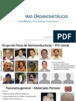 Estructuras Organometálicas
