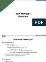 EMC ESN Manager - Session 10