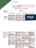 Paralelo Principios y Fundamentos Del Derecho Laboral Colectivo.