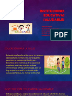 Instituciones educativas saludables