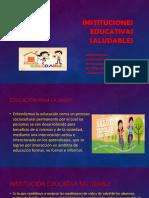 Instituciones educativas saludables