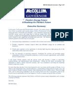 Florida's Energy Future - Bill McCollum for Governor