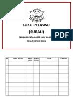 Buku Pelawat Surau