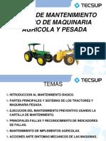 MANTENIMIENTO MAQUINARIA AGRICOLA Y PESADA