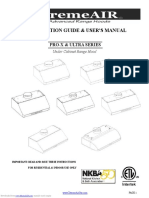 Manual for All Undercabinet-UNIVERSAL- Rev1