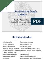 Encuadre y Proceso Psicoterapéutico.